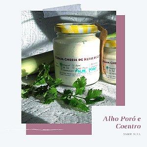Cream Cheese de Kefir de Leite Sabor Alho Poró