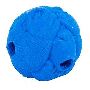 Brinquedo Cachorro Macaquinho Porta Petisco Azul