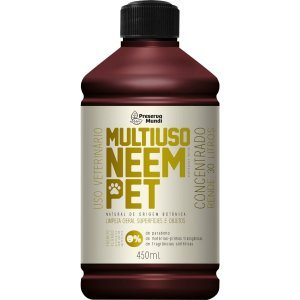 Multiuso Concentrado Natural Neem Pet Preserva Mundi