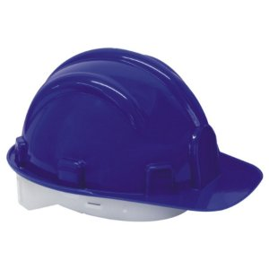 CAPACETE DE SEGURANCA AZUL