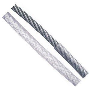 CABO AÇO 6 X 7-3,2 MM (1/8) PVC