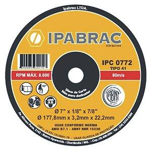 DISCO CORTE 4.1/2X1/8X7/8 2 T IPA