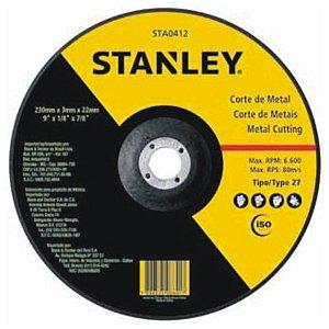 DISCO DESBASTE 4.1/2X1/4X7/8 STANLEY