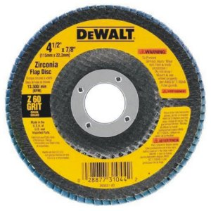 DISCO FLAP G80 115X22MM DEWALT