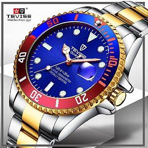 Relógio de Luxo Automático - TEVISE T801
