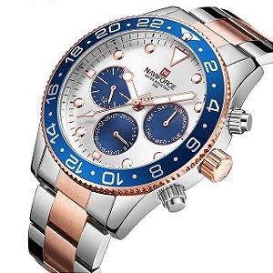 Relógio de Luxo - Naviforce NF9147 (100% Funcional)