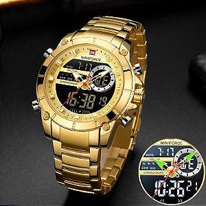 Relógio de Luxo - Naviforce NF9163 (LANÇAMENTO)