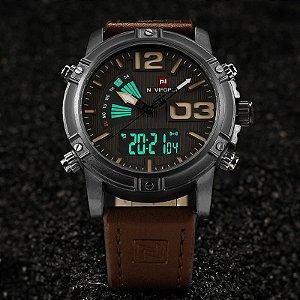 Relógio de Luxo - Naviforce 9095
