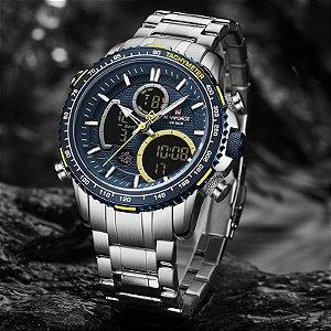 Relógio de Luxo Esportivo - Naviforce NF9182 (LANÇAMENTO)