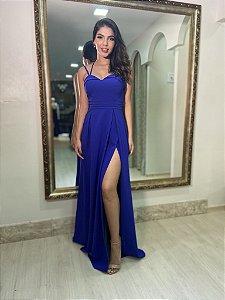 Vestido Florenza Azul Royal