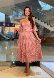 Vestido Nísia Rosa
