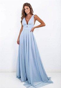 Vestido Ruth Azul Serenity