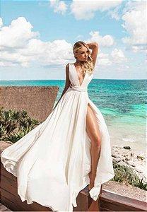 Vestido Safira Branco