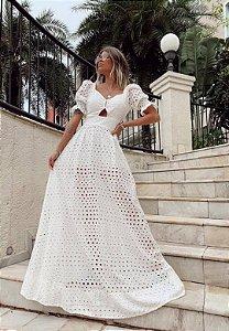 Vestido Bard Laise Off-White