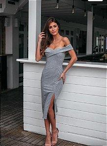 Vestido Liliane Prata
