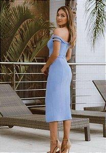 Vestido Siena Azul Serenity