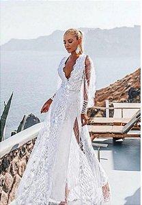 Vestido Hortência Branco
