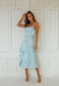 Vestido Edna Azul Serenity