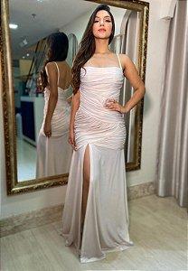 Vestido Sereia Branco