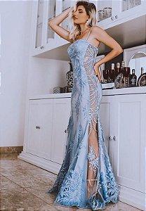 Vestido Romana Azul Serenity