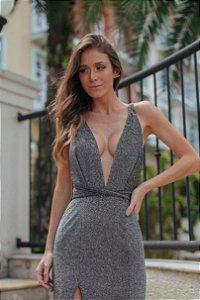 Vestido Paula Grafite