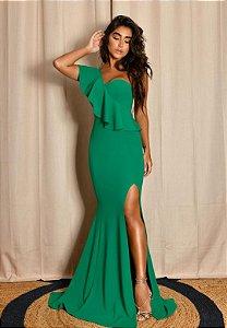 Vestido Mula Manca Verde