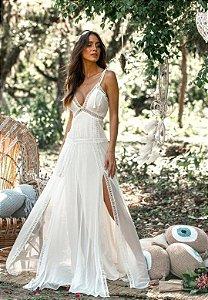 Vestido Cristal Off-White