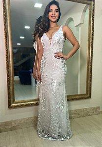 Vestido Lady Branco