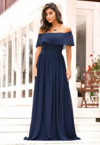 Vestido Bab Azul Marinho