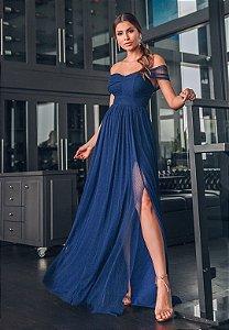 Vestido Munique Azul Marinho