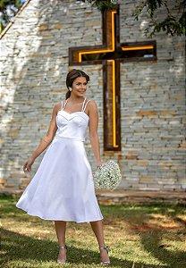 Vestido Isabel Branco