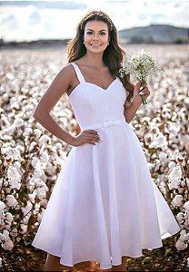 Vestido Helena Branco