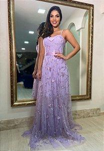 Vestido Diana Lavanda
