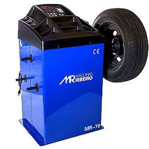 Balanceadora Motorizada Azul 10 a 24 Pol. Monofásica - MAQUINAS RIBEIRO-MR70-A