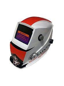 Máscara de solda com escurecimento automático 9 - 13 Saints BRANCA