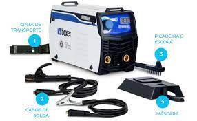 Inversora de Solda Tig/Eletrodo Touch-145 140Amp. 220V. 1510026 boxer