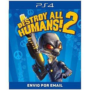 Destroy All Humans! 2 2006 - PS4 digital