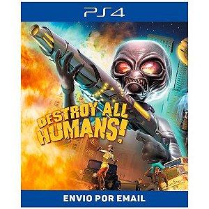 Destroy All Humans! (2005) - Ps4 Digital