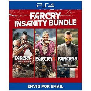Far Cry Insanity Bundle - Ps4 e Ps5 Digital