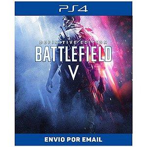 Battlefield V Edição Definitiva - Ps4 e Ps5 Digital