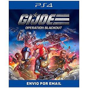 G.I. Joe Operation Blackout - Ps4 Digital