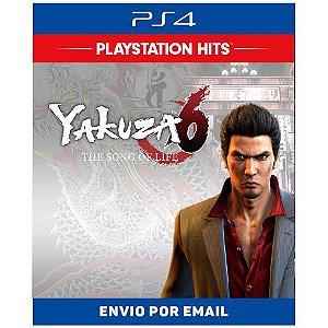Yakuza 6 The Song of Life - Ps4 Digital