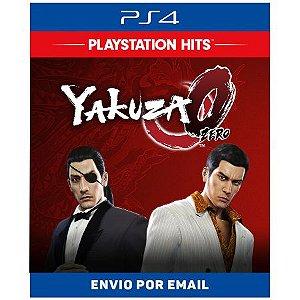 Yakuza 0 - Ps4 Digital