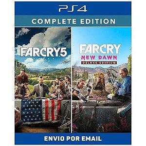 Far Cry New Dawn Complete Edition - Ps4 e Ps5 Digital