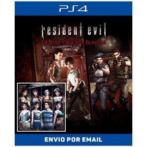 Resident Evil: Deluxe Origins Bundle - Ps4 Digital