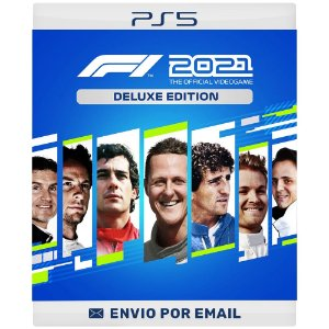 F1 2021 Deluxe Edition - PS4 & PS5 Digital
