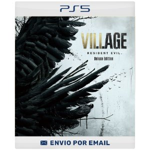 Resident Evil Village Versão Deluxe - PS4 & PS5 Digital