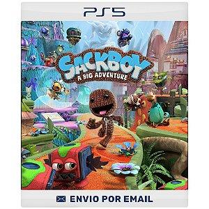 Sackboy: Uma Grande Aventura - PS4 & PS5 Digital