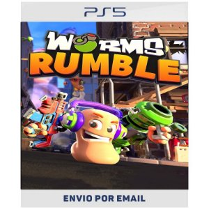 Worms Rumble - PS4 & PS5 Digital