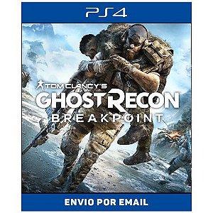 GHOST RECON BREAK POINT - Ps4 Digital
